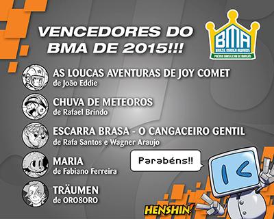 Vencedores BMA 2015