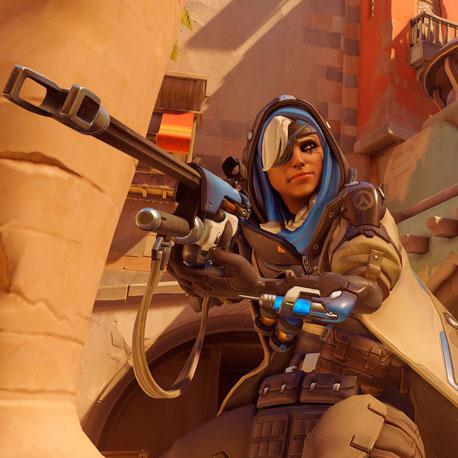 Ana é a novidade em Overwatch