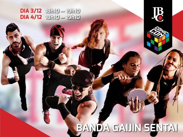 Banda Gaijin Sentai se apresenta no