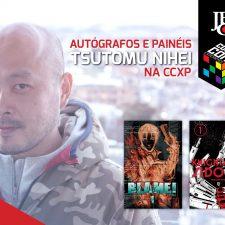 Presença do mangaká Tsutomu Nihei na CCXP 2016