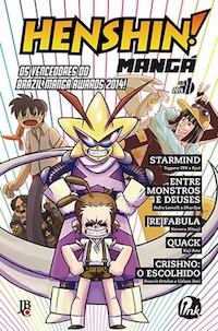 Capa de Henshin Mangá #01