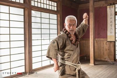 Goutetsu, o mestre de Gouki e Gouken