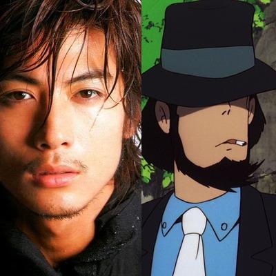 Tetsuji Kamayama, de NANA, como o braço-direito e atirador Daisuke Jigen