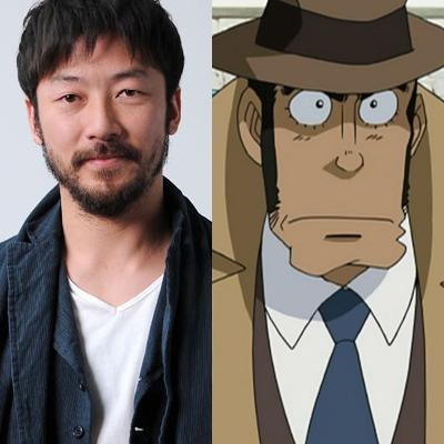 Tadanobu Asano, de Thor e 47 Ronins, como o incansável detetive Kouichi Zenigata