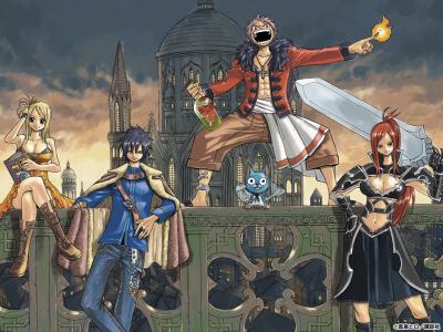 Aqui é Fairy Tail!!!