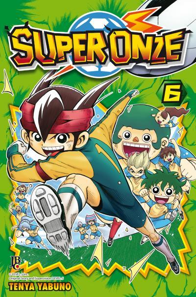 Capa do sexto volume do mangá. Publicado pela Editora JBC