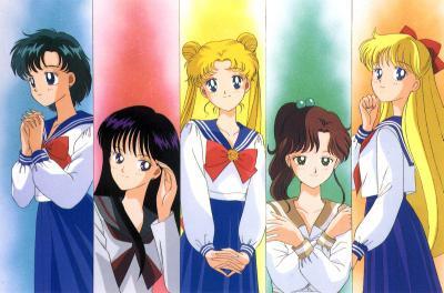 O primeiro animê foi exibido de 1992 a 1997.