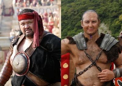 Gladiadores romanos no Japão, ou japoneses em Roma, ainda estamos decidindo.