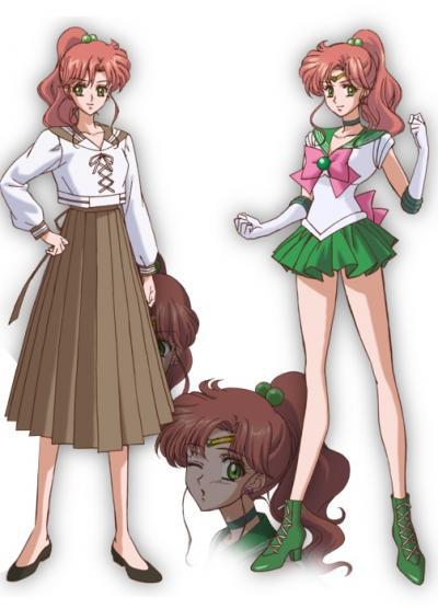 Makoto, Sailor Jupiter - Voz de Ami Koshimizu (Kallen em Code Geass, Ryuko em Kill la Kill)