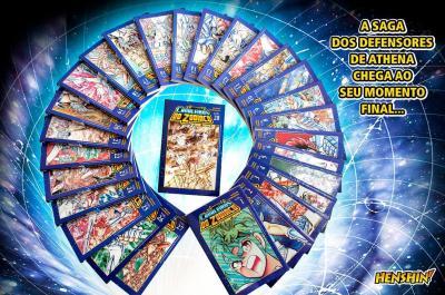 Coleção completa de Os Cavaleiros do Zodíaco