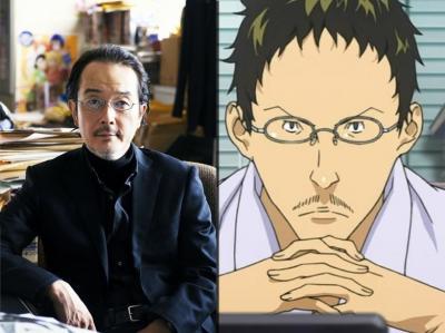 Lily Franky (Judge) como o editor-chefe Hisashi Sasaki. Bem diferente, mas funciona.