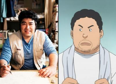 Sarutoki Minagawa (Death Note) como Takuro Nakai. Será que ele vai engordar num próximo filme?