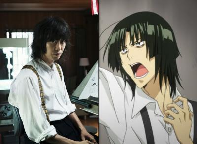 Hirofumi Arai (Serviço de Entregas da Ki Ki) como Kazuya Hiramaru. Talvez o melhor de todos!