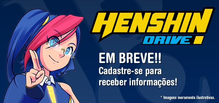 A plataforma digital da JBC: Henshin Drive!