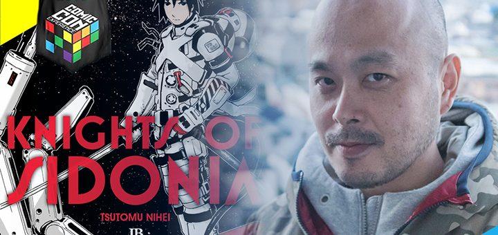JBC e CCXP trarão o autor de Knights of Sidonia e  Blame!, Tsutomu Nihei, para a edição de 2016