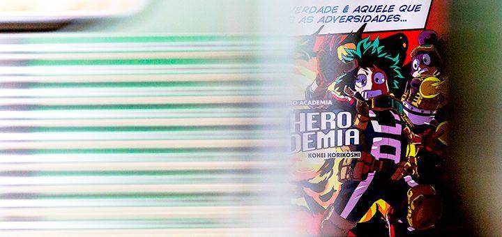 My Hero Academia no Metrô!