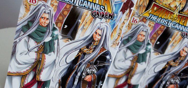 Saint Seiya - The Lost Canvas Gaiden #16 na redação