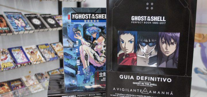 Ghost in the Shell Perfect Book na redação!!!
