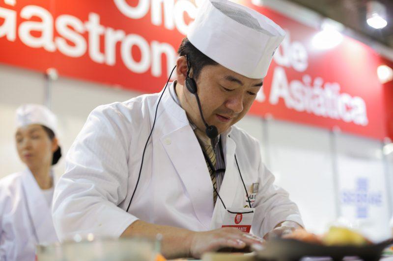 Grandes Chefs no 19º Festival do Japão