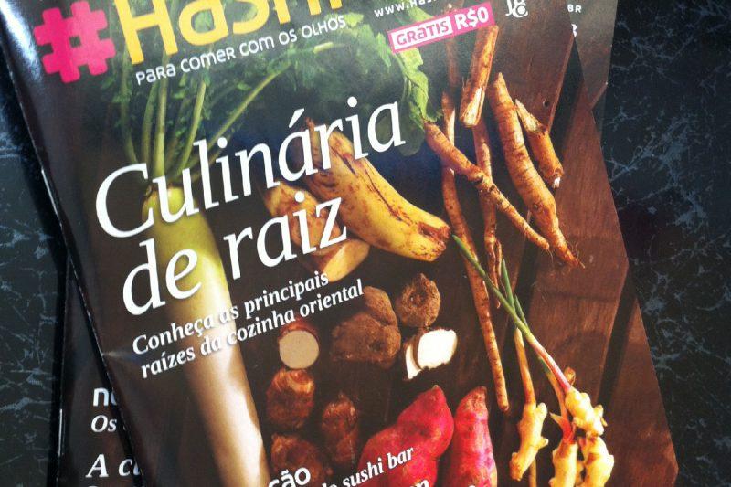 Distribuição da revista Hashitag #19