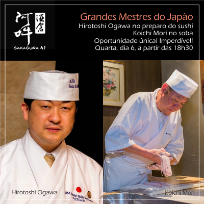 Evento Grandes Mestres do Japão