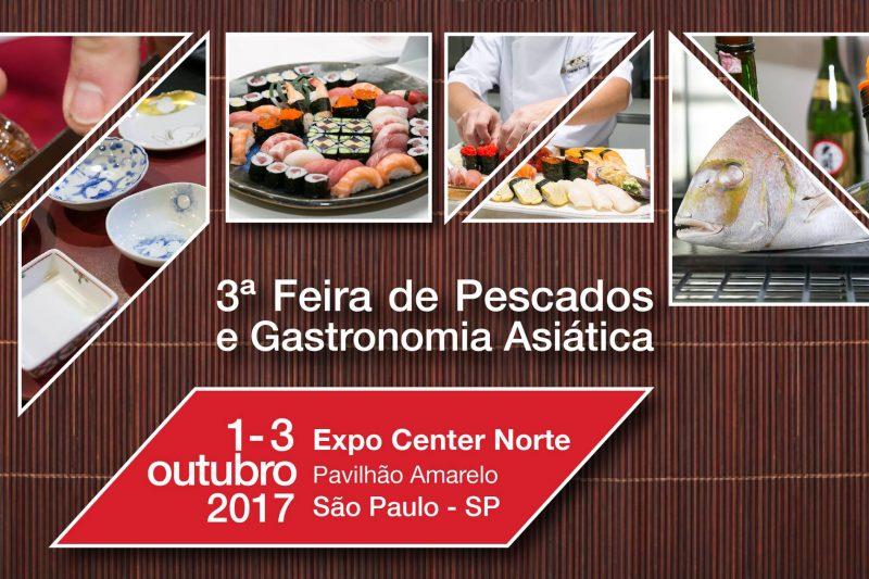 Vem aí a 3ª edição da Asian & Sea Food Show