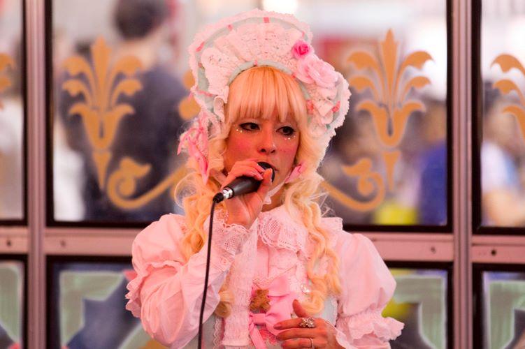 As palestras buscaram explicar o que é a moda lolita e seus estilos