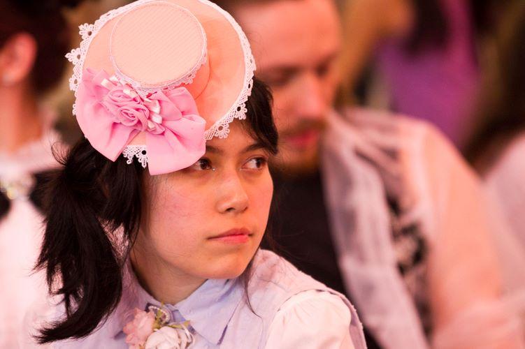 Mariana Gomes usou elementos das Sweet e Casual Lolitas para compor o visual