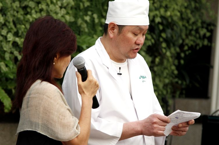 Chef Koichi Mori conta sua experincia no tsunami de 11 de maro de 2011