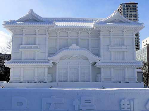 Reprodução do Teatro Kabuki-za, patrimônio de Tóquio que será reinaugurado este ano após reformas/©HTB