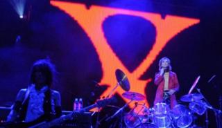 O X Japan é uma das bandas japonesas mais conhecidas no exterior