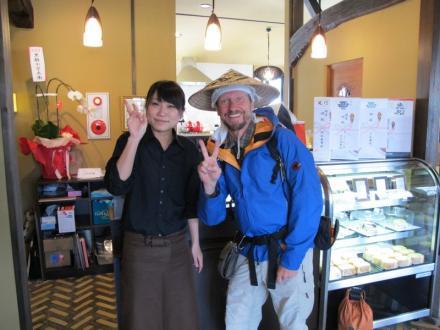 Thomas visita restaurante na província de Oita