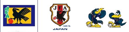 Símbolo, emblema e mascote da seleção japonesa