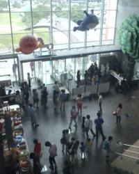 Hall de entrada do Museu do Anpanman, em Kochi
