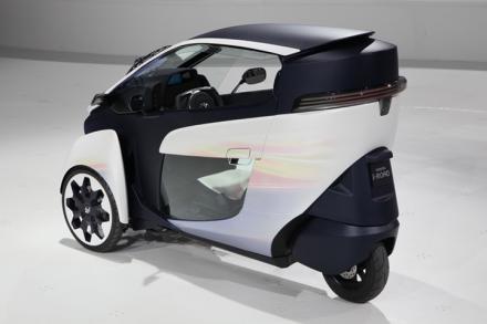 iRoad é o modelo de três rodas da Toyota