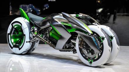 Protótipo da Kawasaki chama atenção pela inovação em design e conceito