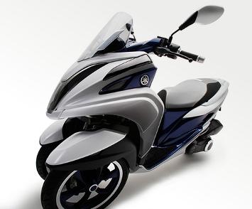 Tricity, da Yamaha, preza pelo conforto e estabilidade