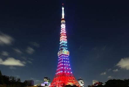 Decoração especial da Tokyo Tower