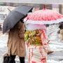 Tokyo celebra Dia da Maioridade sob neve