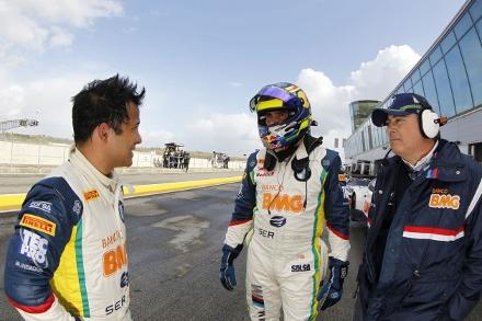 Khodair em competição da FIA GT