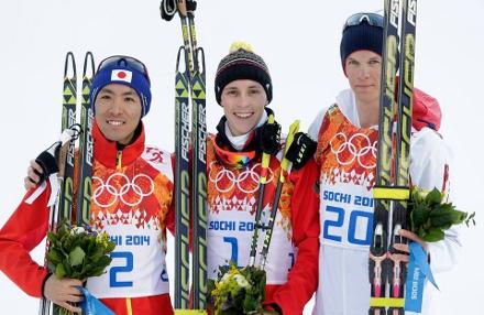 Akito Watabe conquista a medalha de prata no sétimo dia de competições, na categoria individual na disputa de esqui cross country