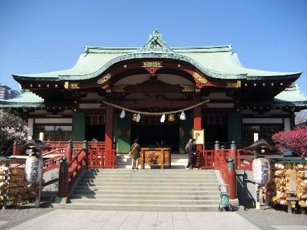 Kameido Tenjin, em Tokyo