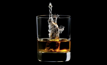 Estátua da Liberdade para apreciar um bom whisky