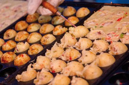 Estande da associação de Hyogo servirá takoyaki durante o festival