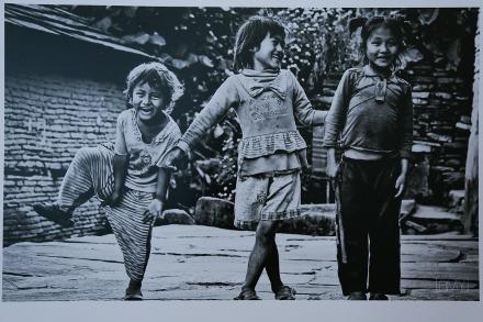 Curtir a infância - em Ghalel (Nepal)