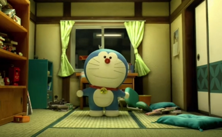 Doraemon, pela primeira vez em 3D