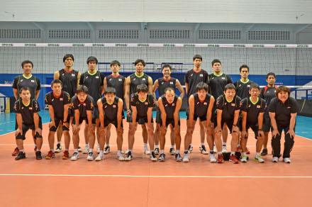 Seleção japonesa de vôlei participa de quatro amistosos no Brasil