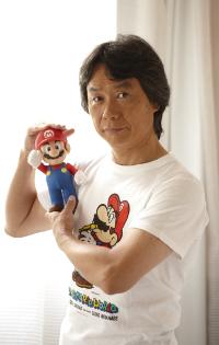 Shigueru Miyamoto é produtor e designer de games conhecido por Zelda, Super Mario Bros e outros