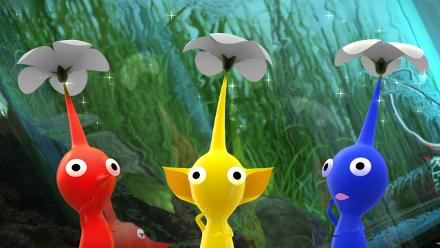 A animação 3D Pikmin será dividida em três partes