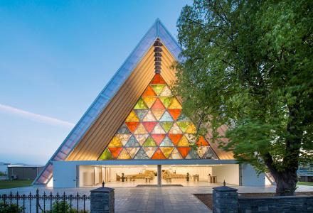 Igreja de Papel, na Nova Zelândia